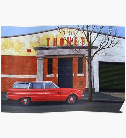 Thonet, Oil on Linen, 71x102cm. Poster