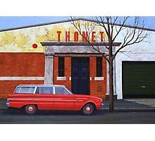 Thonet, Oil on Linen, 71x102cm. Photographic Print