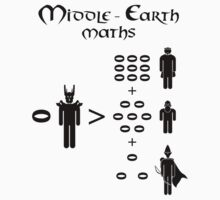 Middle Earth Maths by mime666