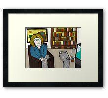 the dead leg Framed Print