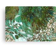 """Waterfall""  Canvas Print"