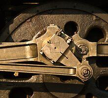 Wheel & gear detail, 3801 by Odille Esmonde-Morgan