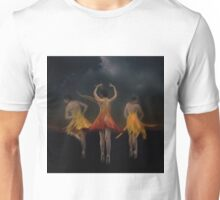 Celebration of the Dancing Flowers Unisex T-Shirt
