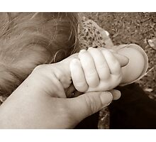 The Hand Of Innocence Photographic Print