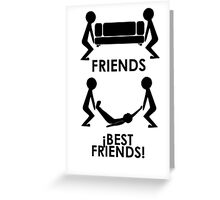 Friends - Best Friends Greeting Card