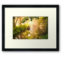 Alone Time Magic Framed Print