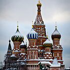 St Basil's Cathedral by Daniel Berends