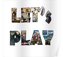 let's play Poster