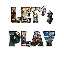 let's play Photographic Print