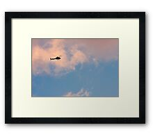 Brisbane Sky - Looking Up - January 13 2011 Framed Print