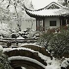 Suzhou Garden in the Snow by Mark Bolton