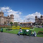 Cuzco City Square, Peru, South America by Deb22