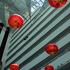 Chinese lanterns by David  Barker