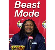 Marshawn Lynch Beast Mode (Skittles) Photographic Print