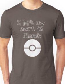 I left my heart in Sinnoh Unisex T-Shirt