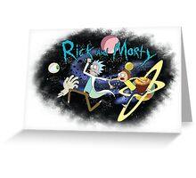 Ricklight Zone Greeting Card