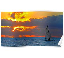 balinese sunset Poster