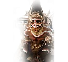 Tribal Man - Papua Photographic Print