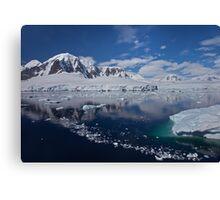 Paradise Bay (Antarctica) Canvas Print
