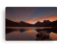 Colours of Cradle Mountain Canvas Print