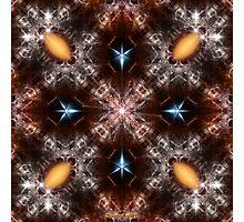 Time Storm Star Blaze Photographic Print