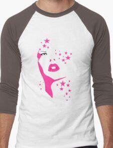 face Men's Baseball ¾ T-Shirt