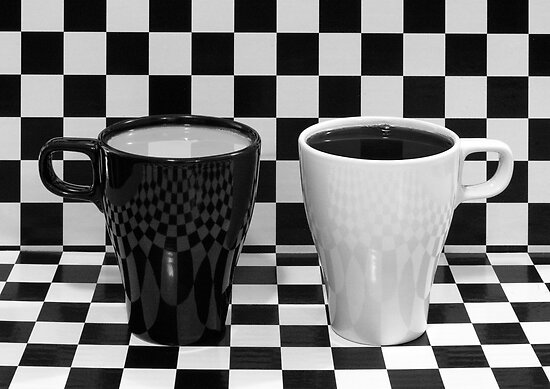 Black Or White by Tony Cave
