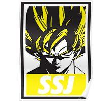 OBEY SSJ Poster
