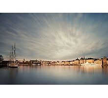 Stockholm dawn. Photographic Print