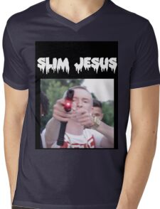 slim jesus Mens V-Neck T-Shirt