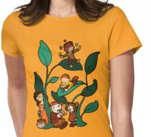 Funny  Beanstalk 1 Womens Fitted T-Shirt
