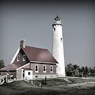 Tawas Point Lighthouse by Monnie Ryan