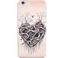 Locked in the Heart iPhone Case/Skin