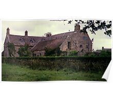 Sulgrave Manor - Home of G. Washington's ancestors Poster