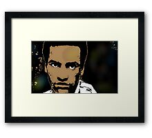 HUEY NEWTON (LARGE) Framed Print