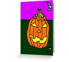 """Jacky-O"" by Richard F. Yates Greeting Card"