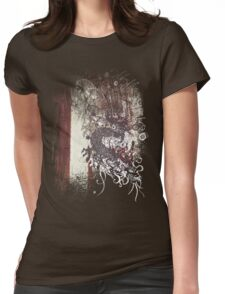 Chinese Dragon - Textured Patterns Womens Fitted T-Shirt