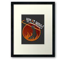 What would Dr. Gordon Freeman do? - Half Life Framed Print