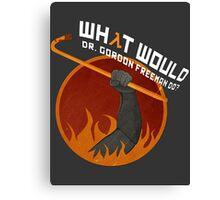 What would Dr. Gordon Freeman do? - Half Life Canvas Print
