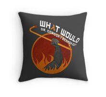 What would Dr. Gordon Freeman do? - Half Life Throw Pillow