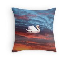 kerry red Throw Pillow