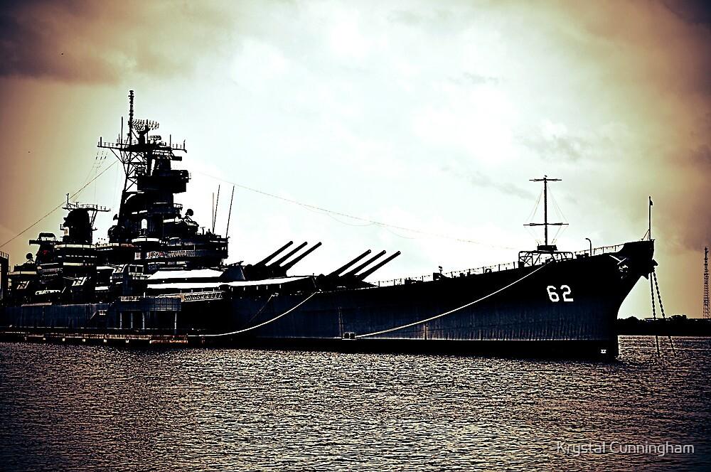 Battleship New Jersey by Krystal Cunningham