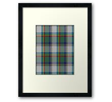 00331 Lanark Highlands District Tartan  Framed Print