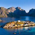 Lofoten Islands, Norway. by Justin Foulkes