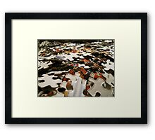 """""""Pieces of the Puzzle  Framed Print"""