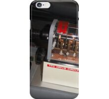 Back To The Future Time Circuit Toggle Switch iPhone Case/Skin