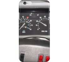 Delorean Wheel iPhone Case/Skin
