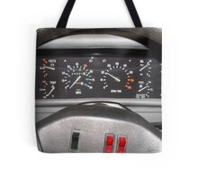 Delorean Wheel Tote Bag