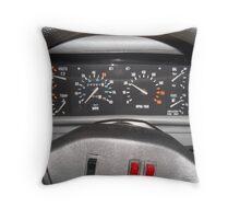 Delorean Wheel Throw Pillow