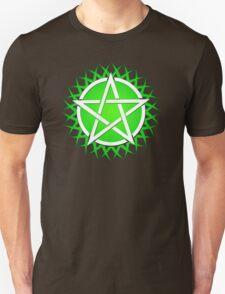 Grassy Pentacle  Unisex T-Shirt
